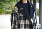 「チェックPコートをシンプルなスカートで・・・」EZUMi