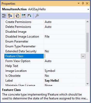 Feature management: create a custom feature 1