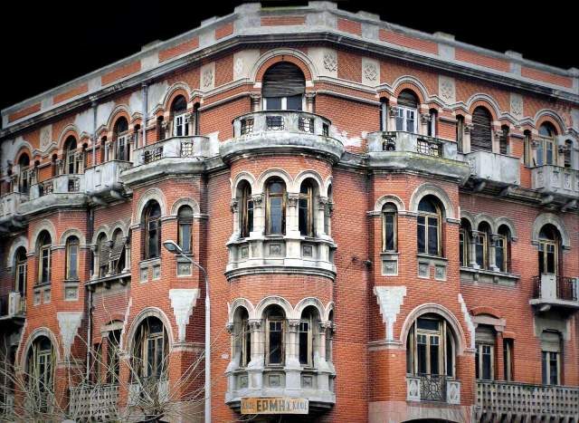 Το κόκκινο σπίτι στη Θεσσαλονίκη