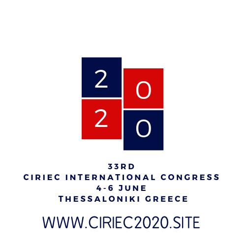 CIRIEC International: В начале июня 2020 года в Салониках пройдет крупнейшее международное мероприятие в сфере социальной экономики