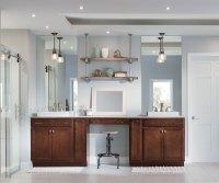 Dark Maple Bathroom Cabinets - Aristokraft Cabinetry