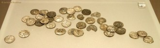 Silver coins of Asia Minor.