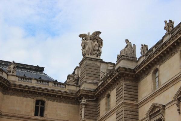 Louvre In Paris Aristotle Microchips & Chappatis