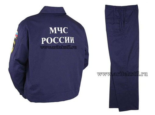 летняя одежда для МЧС