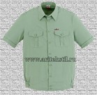 рубашка форменная с коротким рукавом-1
