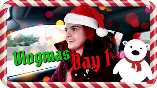 Vlogmas Day 1 a river of roses
