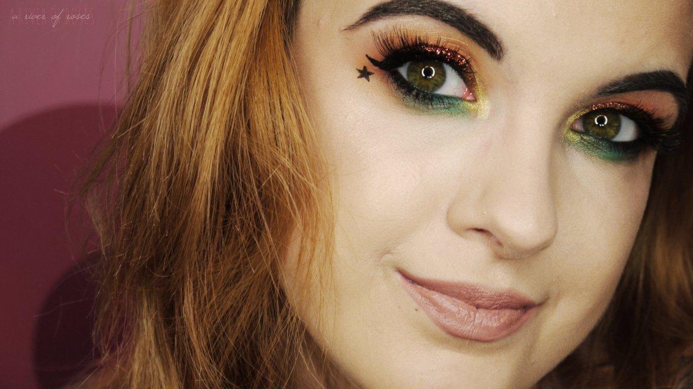 Pop of Green – Makeup Tutorial