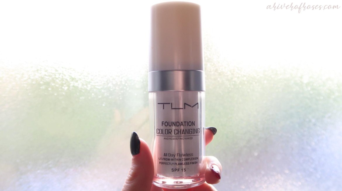Diablo Cosmetics: TLM Colour Changing Foundation Review