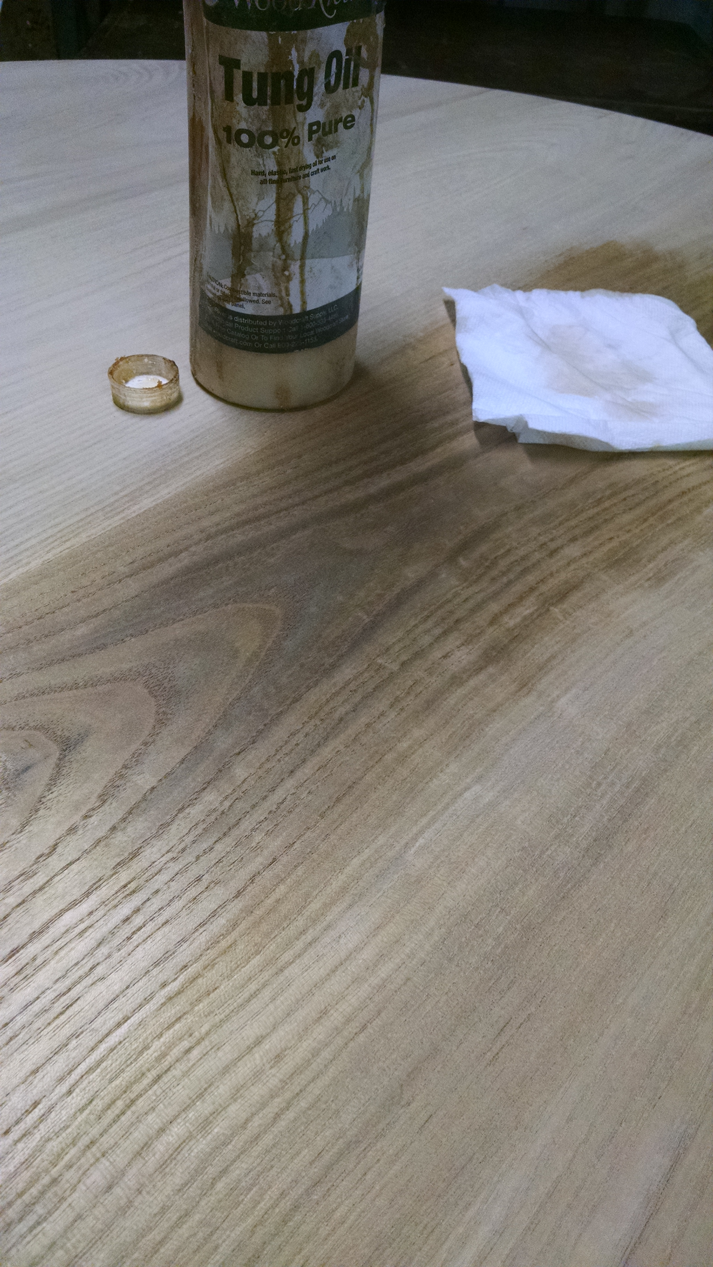 Tung Oil Over Linseed Oil
