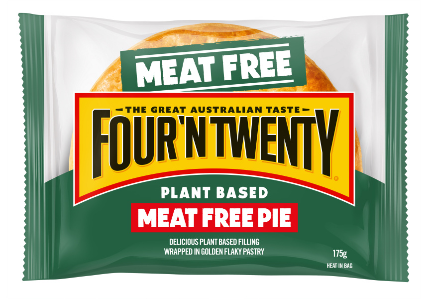 patties meat free pie