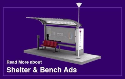 Bus Bench Bus Shelter Advertising