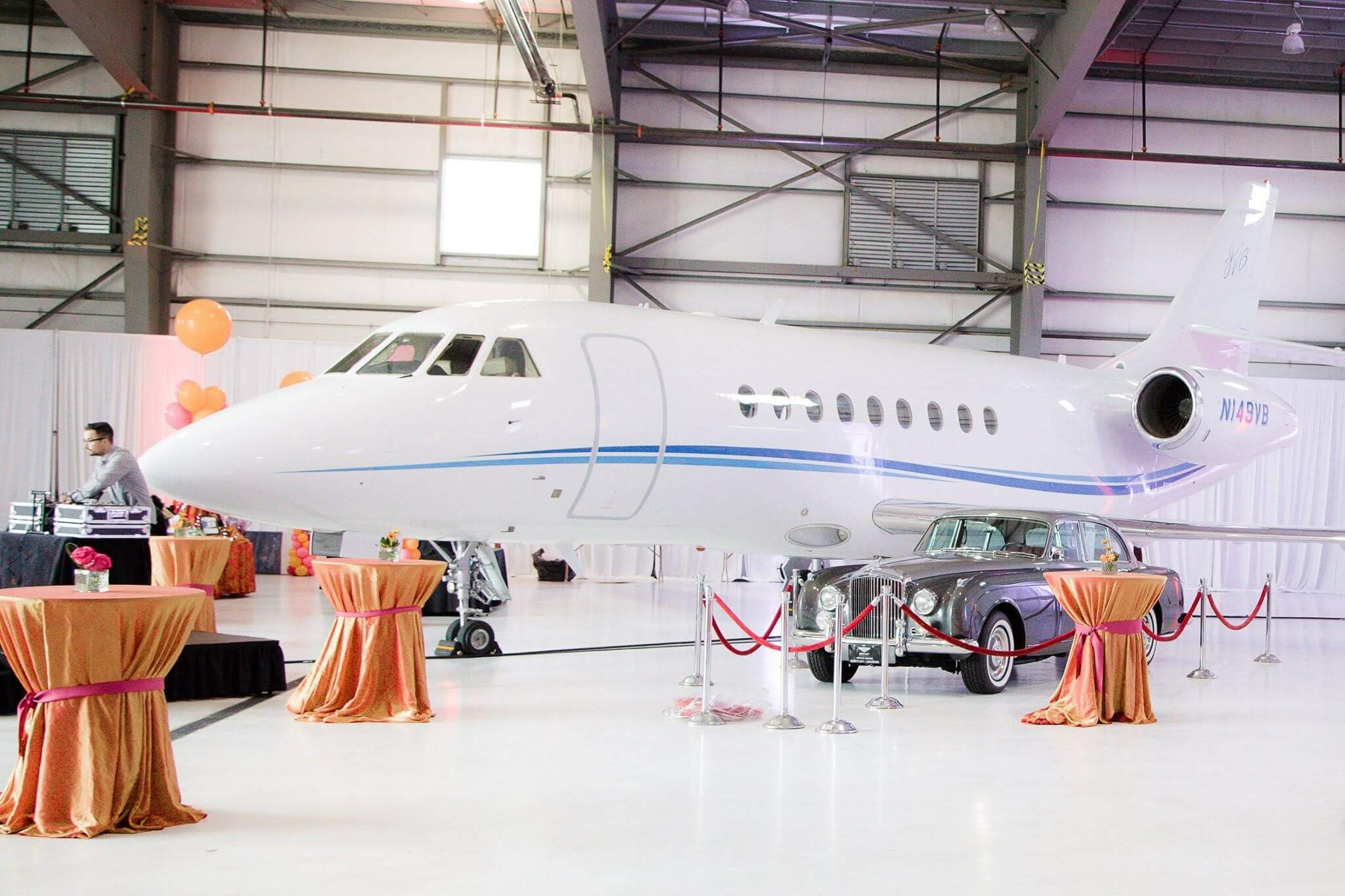 Private Event in Arizona Airplane Hangar