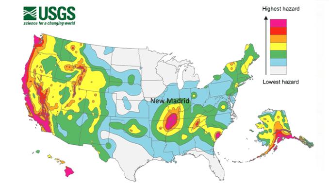 The New Madrid, Missouri Earthquakes, 1811-1812 | Arizona ...