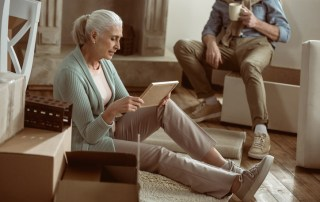 Transition into assisted living