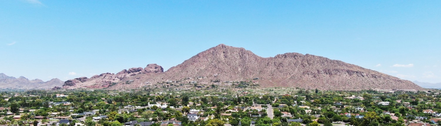 Camelback Mountain Near Phoenix