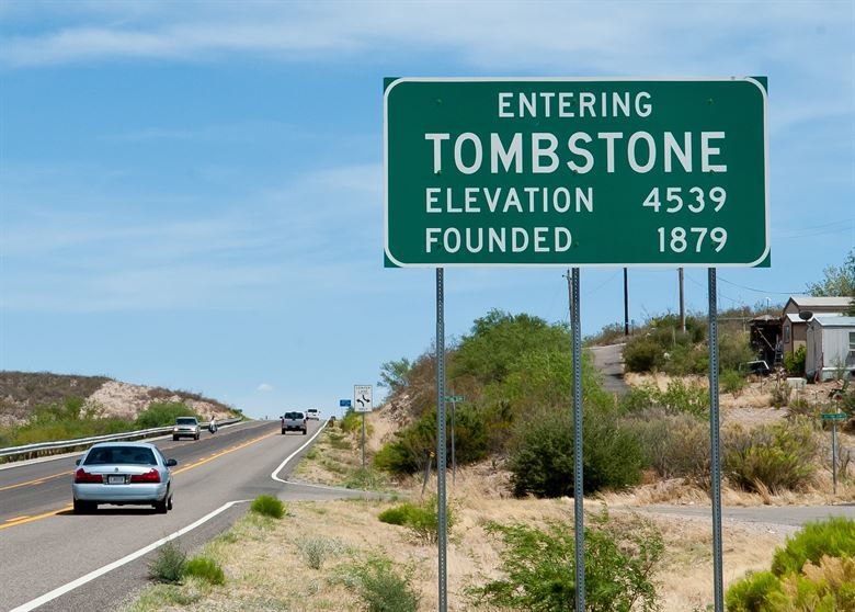 Population of Tombstone Arizona