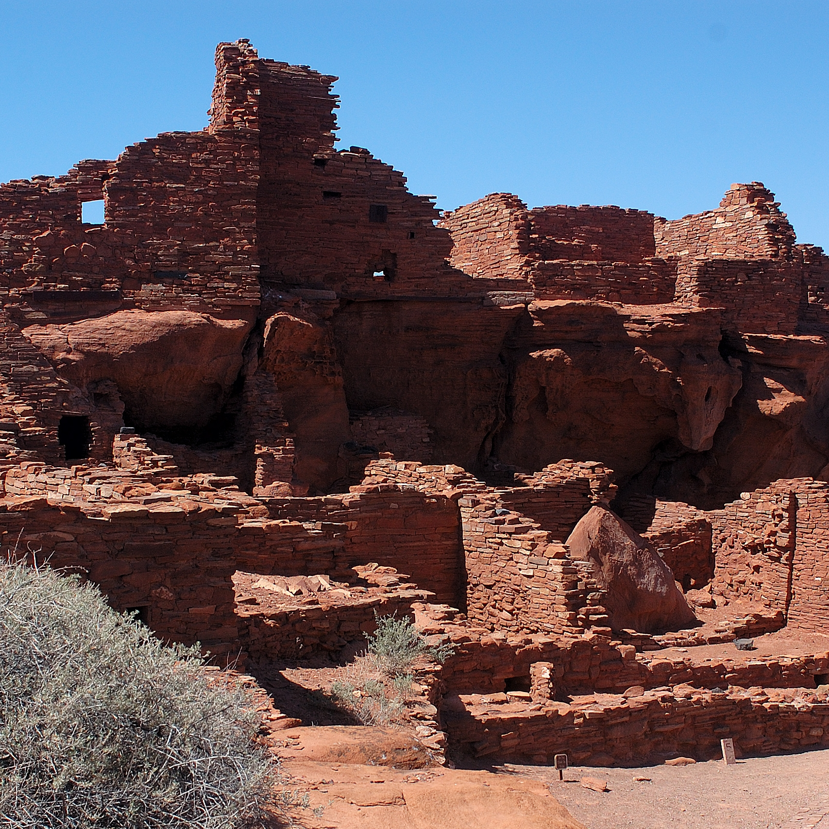 Wupakti Pueblo Ruins in Arizona