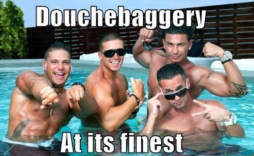 douchbagery