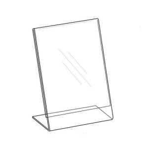 Sign Holder 8.5×11, Easel Style, Vertical