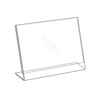Sign Holder 11×8.5, Easel Style, Horizontal