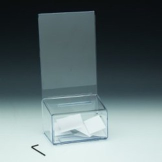 DS C3 CL Locking Coin Box with Header ( Pack of 48/$4.15 Each)