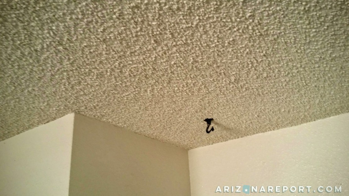 Popcorn Ceilings May Contain Hidden Risk