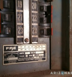 check your home for this dangerous electrical panel view larger image federal pacific  [ 1200 x 675 Pixel ]