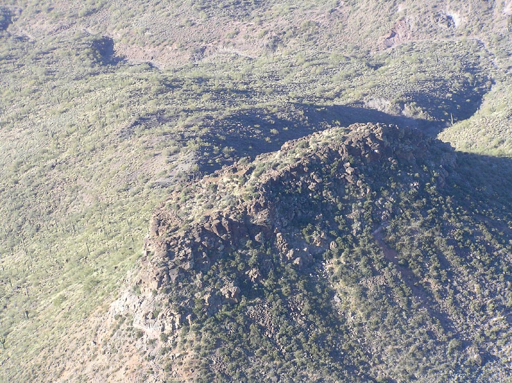 Tonto Hill Forts