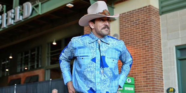 Image result for aaron rodgers cowboy]