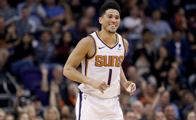 Devin Booker S Great 2018 19 Season By The Numbers