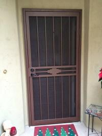 Security Doors - Arizona Sun Screen