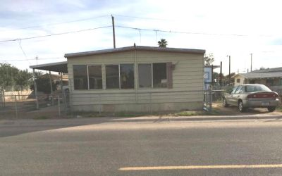 Mobile Home on It's Own Fenced Lot