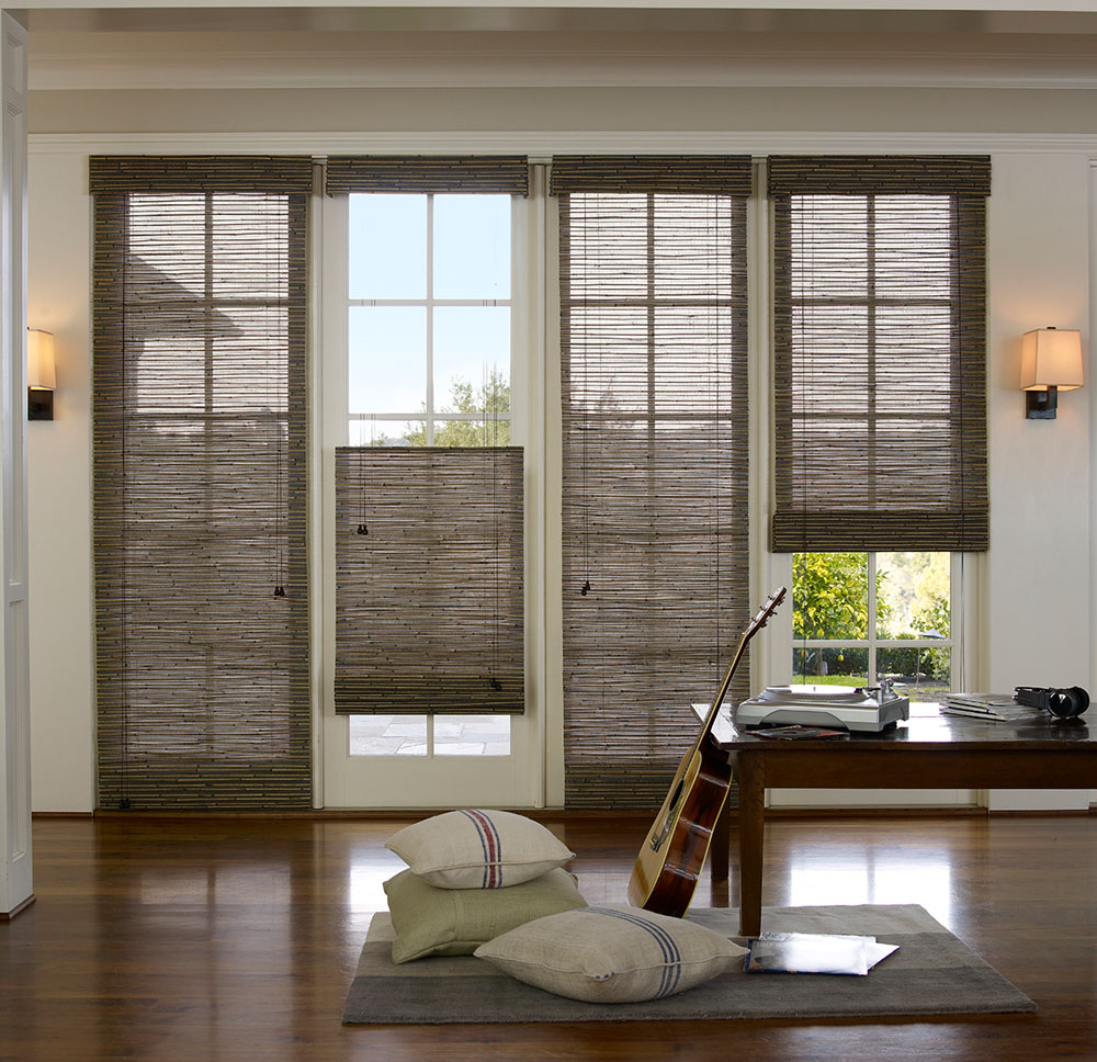 Natural Woven Shades In Ventura Shop For Shades Blinds