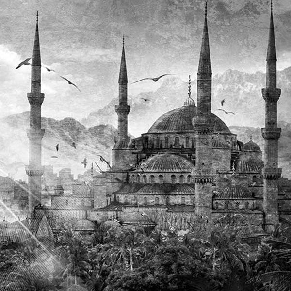 Tableau Mosquée d'Istanbul