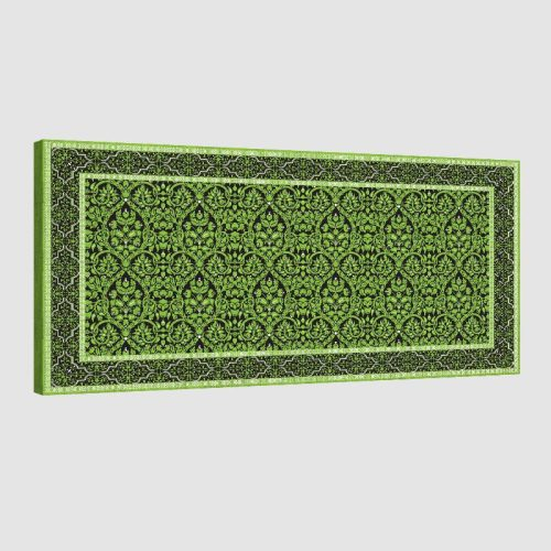 Tableau oriental tapis-vert
