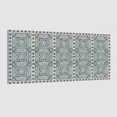 Tableau oriental motif métal