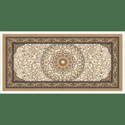 Poster oriental-tapis beige