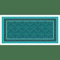 Poster oriental-tapis-turquoise