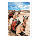 Poster oriental-dromadaires
