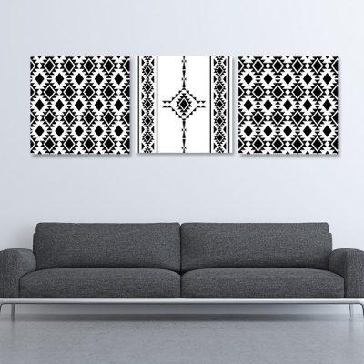 Tableau oriental – Berbère triptyque
