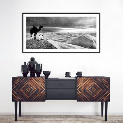 Poster oriental desert