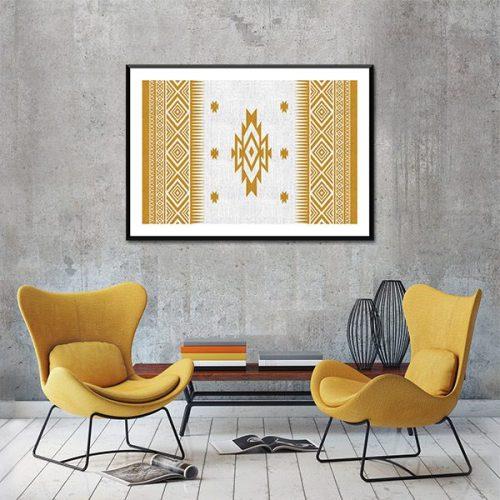 Poster oriental motif berbere