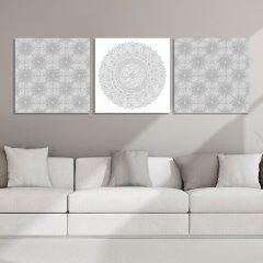 Tableau oriental triptyque
