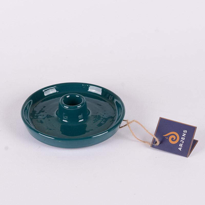 Petrol Mavisi El Yapımı Seramik Tütsülük