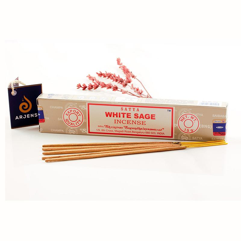 Satya White Sage Çubuk Tütsü