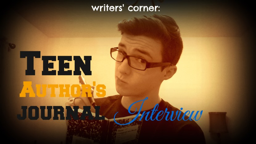 teen authors journal interview