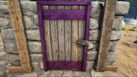 Reinforced Wooden Door