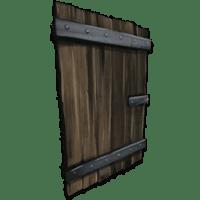 Reinforced Wooden Door