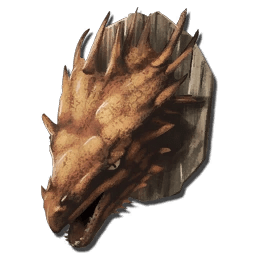 Alpha Wyvern Trophy Scorched Earth  Official ARK