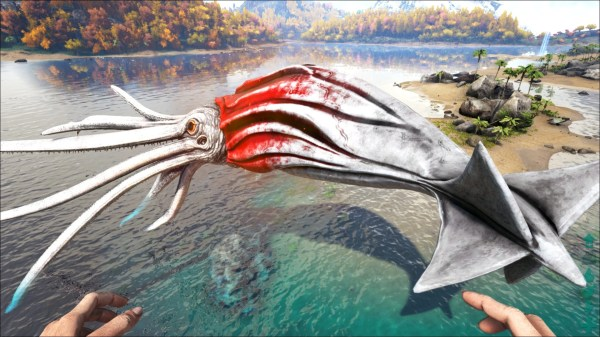 Ark Survival Evolved Tusoteuthis - Year of Clean Water